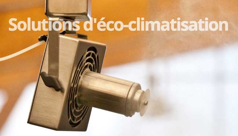 Solutions d'Eco-climatisation